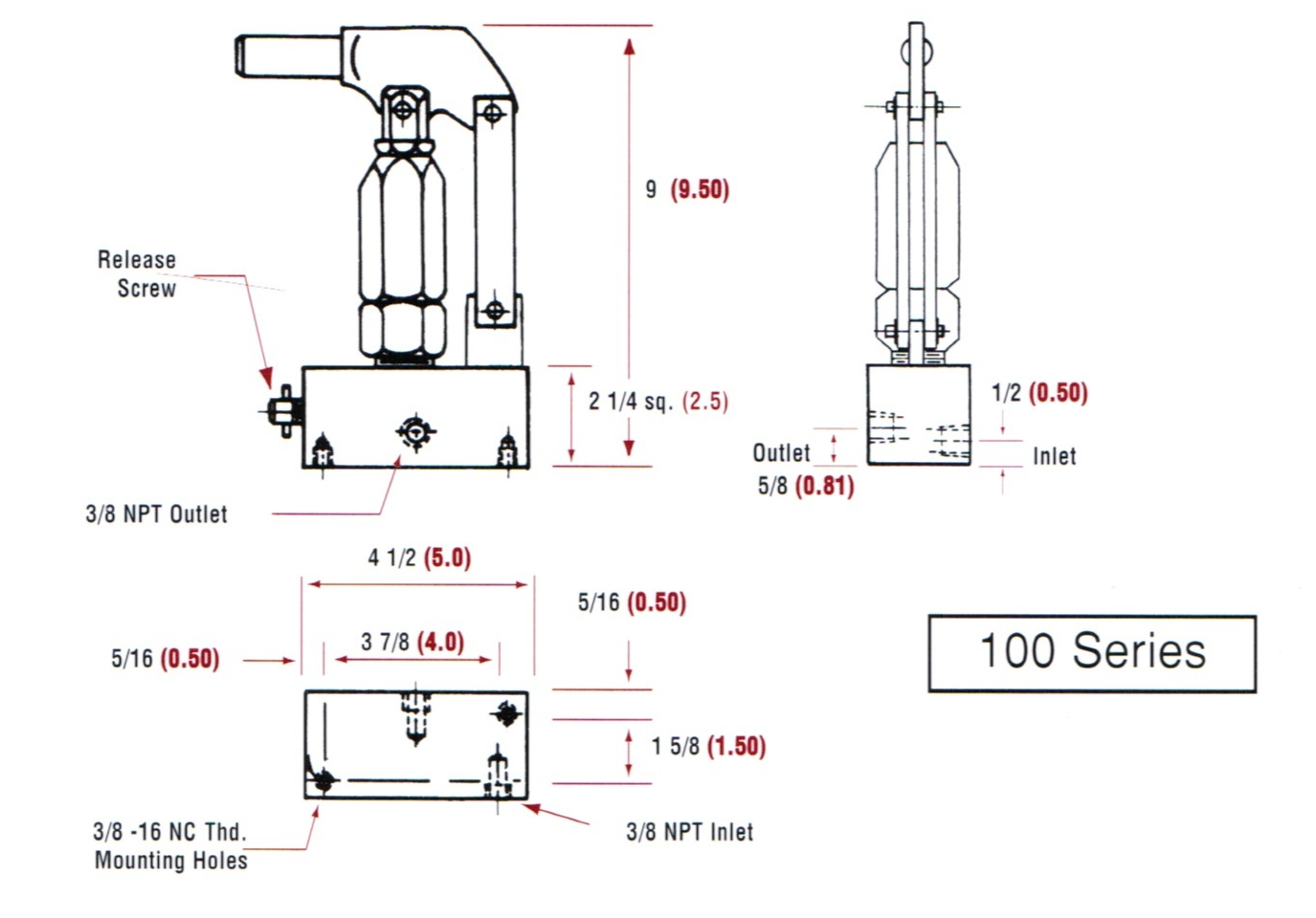 working diagram of hydraulic hand pump